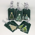 Christmas Tree -Dark Green and Silver (10)