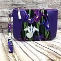 Dutch Iris Zip Pouch/Clutch
