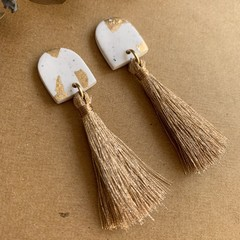 """""""Stay Gold"""" - Thick Arch Tassel Dangles"""
