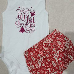Babies first Christmas set