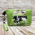 Cows Zip Pouch/Clutch