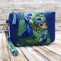 Peacock Zip Pouch/Clutch