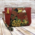 Australian Wildflowers Zip Pouch/Clutch