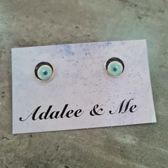 Halloween eyes Jamberry stud earrings