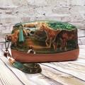 Horses Zip Pouch/Wristlet