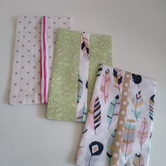 Pocket Tissue Holders Set of 3