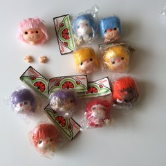 12 Doll Heads and Hands (Small)