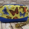 Butterfly Bliss  Zip Pouch/Wristlet