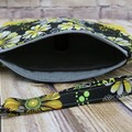 Yellow Daisies Zip Pouch/Wristlet