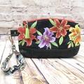 Oriental Lilies  Zip Pouch/Wristlet