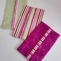 Pocket Tissue Holders Set of 3