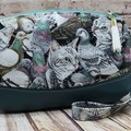 Cat amongst the pigeons Zip Pouch/Wristlet