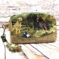 Labrador dogs  Zip Pouch/Wristlet