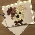 Puppy buttons card
