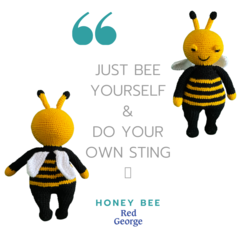 Honey Bee - from the Red George cuddle crew