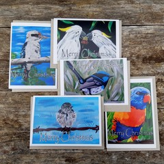 Australian Birds Christmas Card Pack
