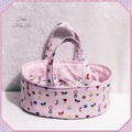 Small Doll Carry Basket