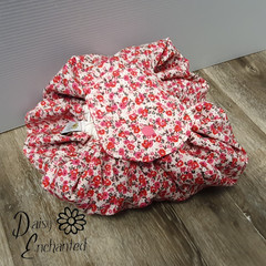 Round Drawstring Makeup/Toiletry Pouch