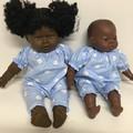 Dolls Romper to fit 40cm Miniland Dolls and Kmart Ella dolls