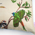 Vintage Retro Australian Finches Cushion