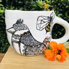 Birds and the Bees 🐝  XL cup
