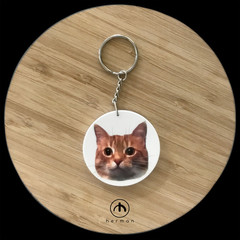 Flat Plastic Bauble - with Pet head photograph & personal message - LIMITED TIME