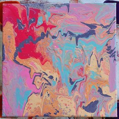 Swirls of colour