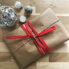 ADD ON OPTION | Christmas gift wrapping | PLEASE READ DESCRIPTION