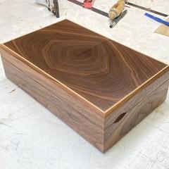 Heirloom | Keepsake | Valet | Wood Box In American Walnut