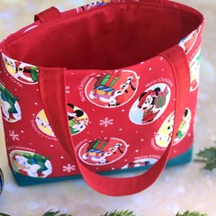 Kids/Tweens Christmas Carry Bag - Handbag - Carry all