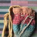 Rainbow Crochet Bag | Moneybag Style