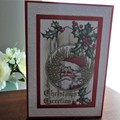 CHRISTMAS CARD  (Free Postage)