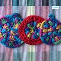 VARIOUS | 3 Pack | Crochet Scrubbie Combo | Handmade Cotton | POSTAGE INCLUDED