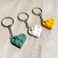 KEYRINGS - Heart Brick Keyrings