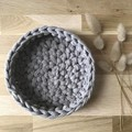 Crochet baskets | MULTIPLE SIZES | BISCUIT