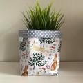 Small fabric planter | Storage basket | Pot cover | RABBITS