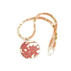 Kimono Necklace/Pendant - Pink