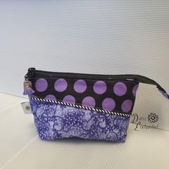 Purple Spot Pouch