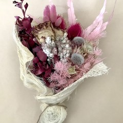Pink Melody - Dry bouquet - Dried flowers - 30cm - Pink