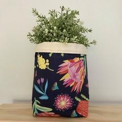 Large fabric planter | Storage basket | Pot cover | BRIGHT NATIVES