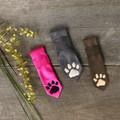 Tasmanian Tiger Paw Print Pet Ties