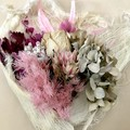 Pink Symphony - Dry bouquet - Dried flowers - 39.5cm - Pink