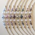 Swarovski Pearl Earring & Necklace Set: Lana & Luminare
