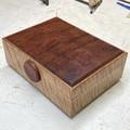 Valet | Jewellery | Heirloom | Keepsake | Wood Box In Tasmanian Oak And Red Gum