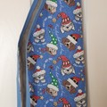 XMAS PRE-SCHOOLER REVERSIBLE APRON - 2 TO 5 YEARS