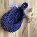 Crochet hanging pod   home decor   MULTIPLE COLOURS