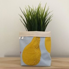 Small fabric planter | Storage basket| Pot Cover | PEARS