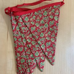 Candy Cane Christmas Bunting
