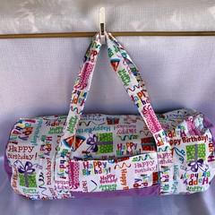 Happy Birthday Duffel Bag