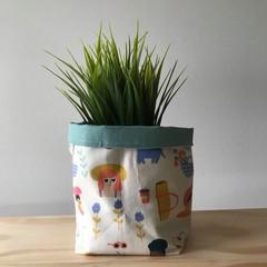 Small fabric planter | Storage basket | Pot cover | MILLENNIALS